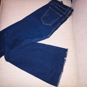 Majorelle Flare McGuire Jeans Whn Heaven Fell Wash